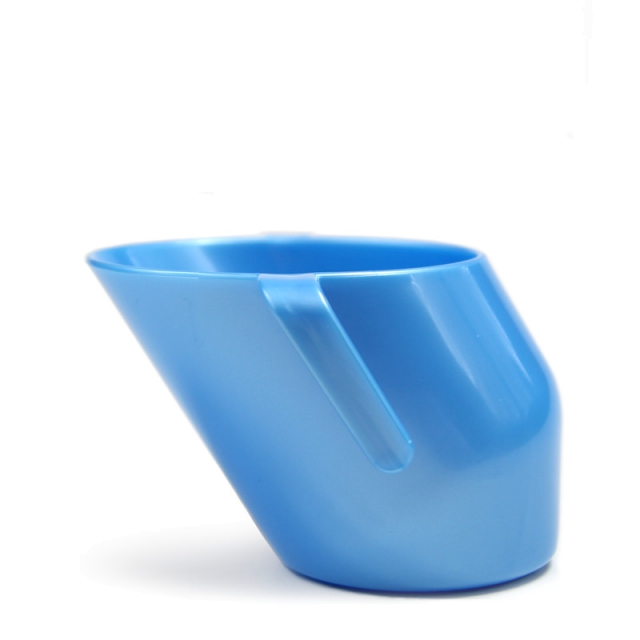 Doidy Baby Training Cup AZURE BLUE PEARLISED